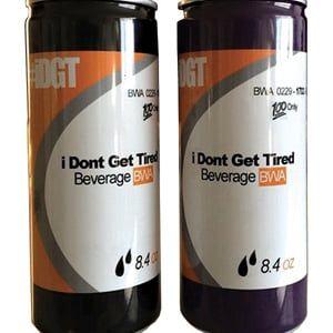 Kevin Gates '' Ich werde nicht müde '' Energy Drink von der Houston Distributing Company