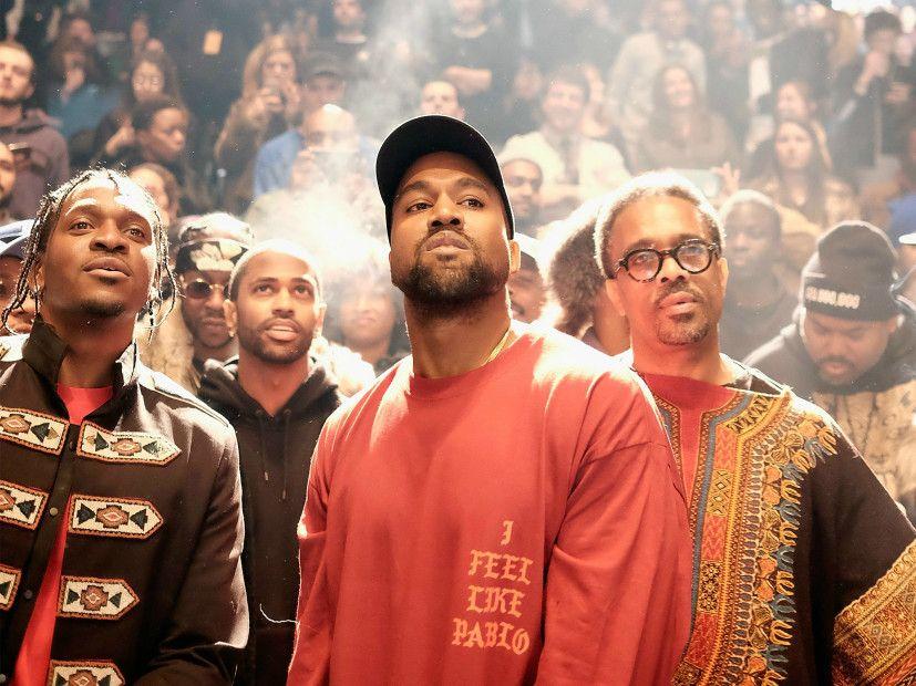 Líf Kanye West í pop-up búð Pablo er með einkarétt búnað; Hvítur Sonos Sub
