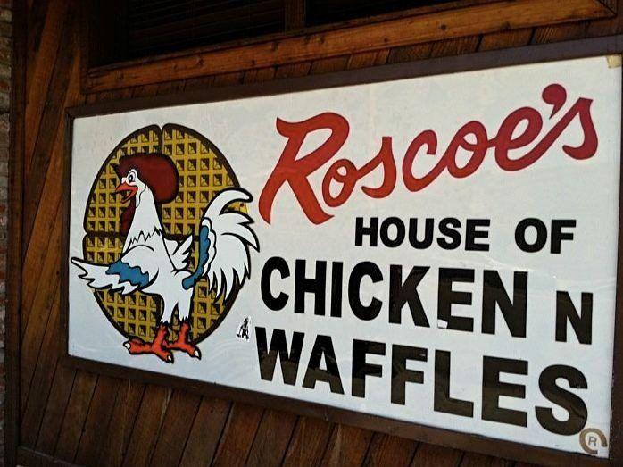 Roscoes House of Chicken & Waffles Braten KFC über neuen Menüzusatz