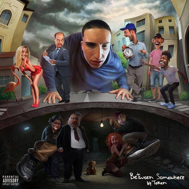Kritik: Token ist sich auf dem Album 'Between Somewhere' mühsam bewusst