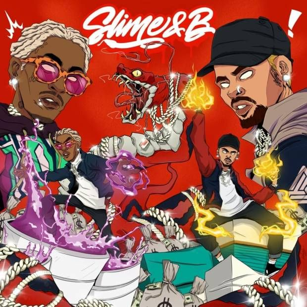 Kritik: Young Slug & Chris Browns 'Slime & B' segnet Damen mit einem goldenen Sommer-Soundtrack