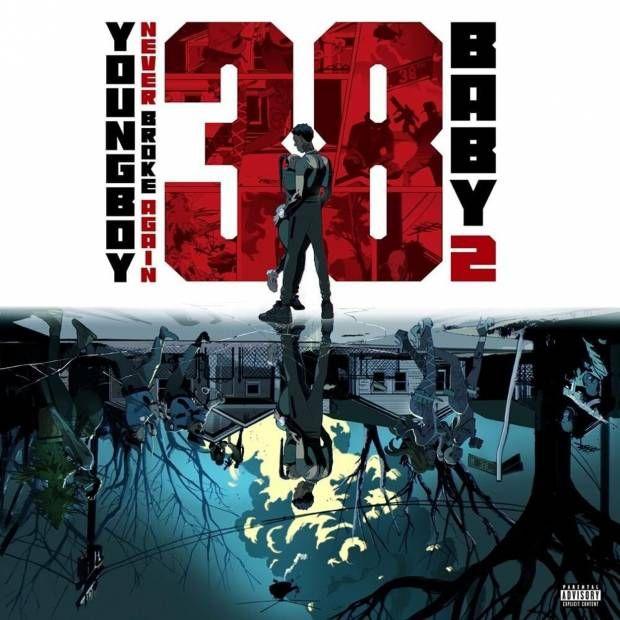 Anmeldelse: YoungBoy brød aldrig igen lyder tabt og plaget på '38 Baby 2 'album