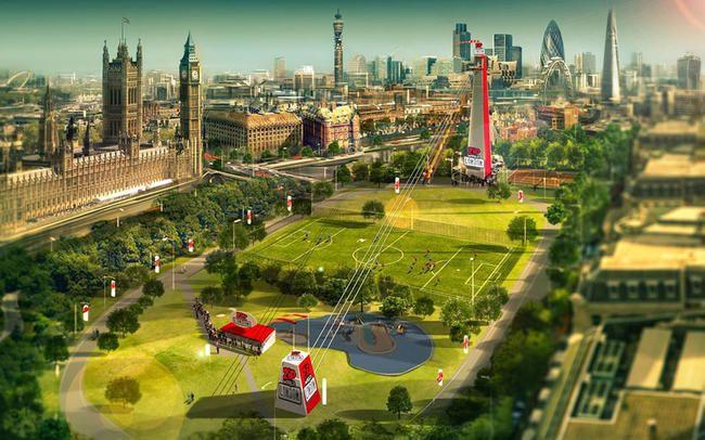 London blir en gigantisk, superrask zipline