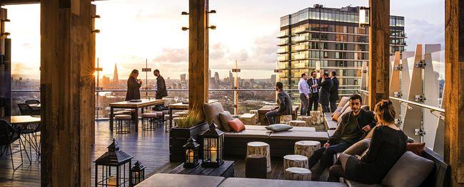 Les meilleurs et les plus époustouflants bars sur le toit de Londres
