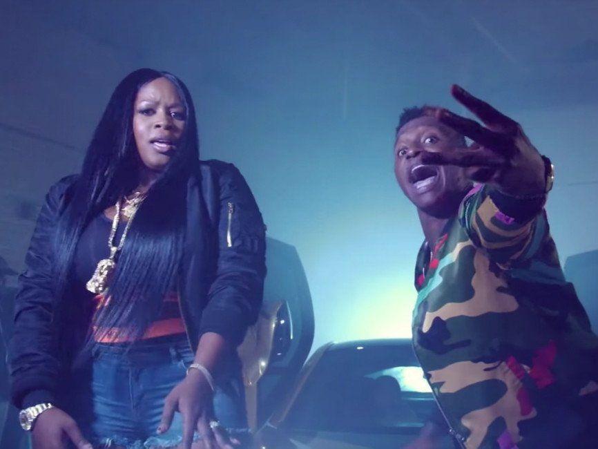 Phresher listet Remy Ma & Young M.A. für das Video 'Wait A Minute (Remix)' auf