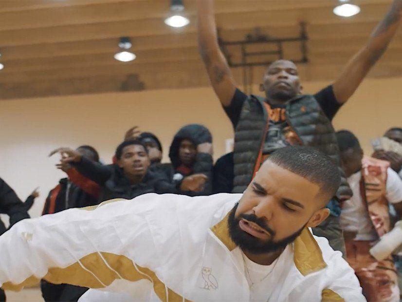 Drake trifft den Shoot Dance in BlocBoy JBs 'Look Alive' -Video