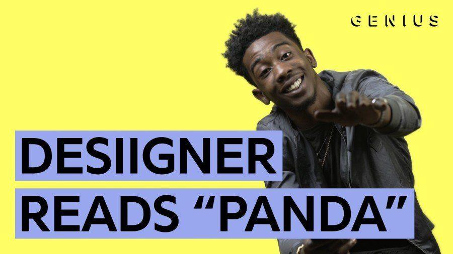 Desiigner nos lê as letras do 'Panda'